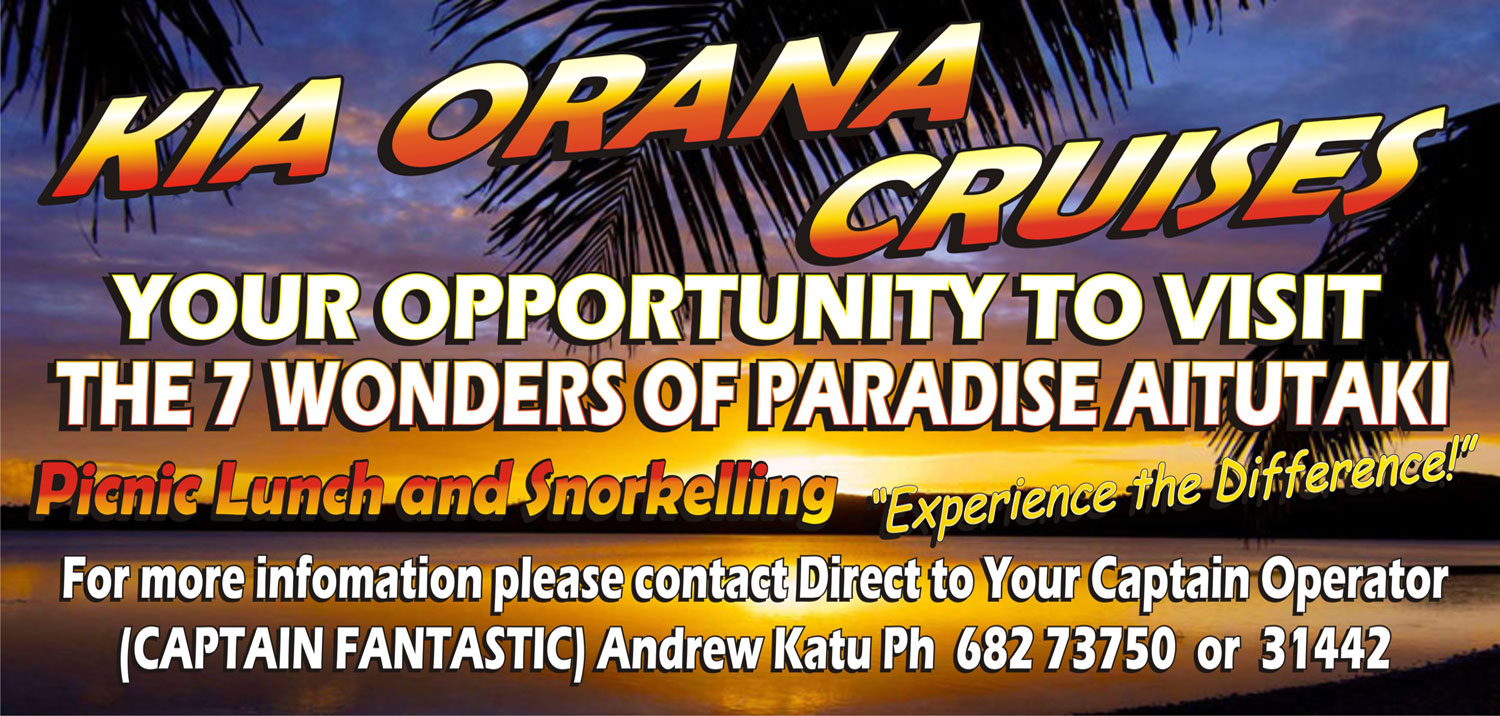 Welcome to Kia Orana Cruises